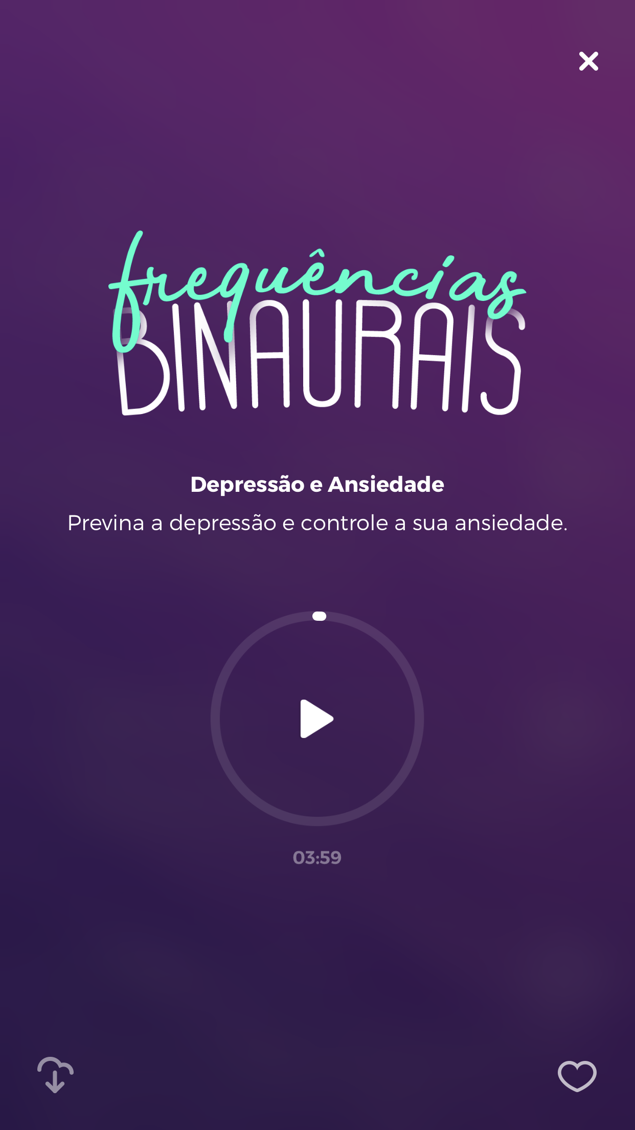 frequências binaurais