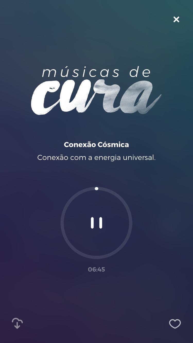 meditação guiada para conexão cósmica zen app