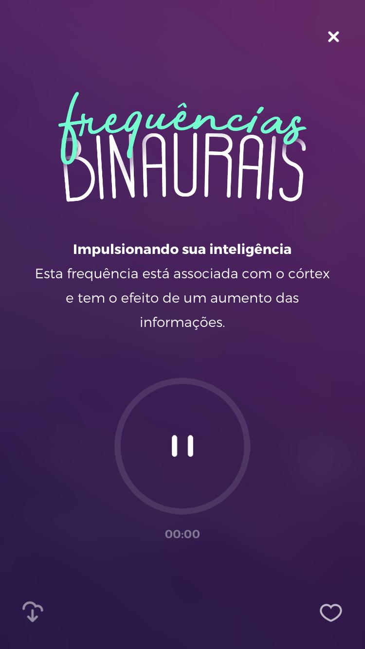 sons binaurais impulsionando inteligência Zenapp